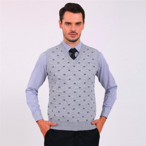 2014-NEW-FASHION-KNITTING-font-b-ARGYLE-b-font-WOOL-V-NECK-font-b-MEN-b