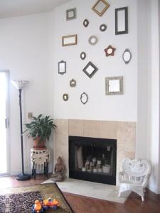 mini+espelhos+parede+decoração