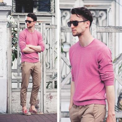 Resultado de imagem para rosa quartzo moda masculina
